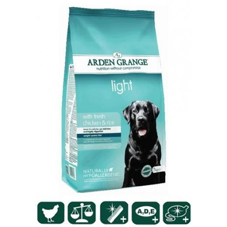 Adult Dog Light with fresh chicken & rice